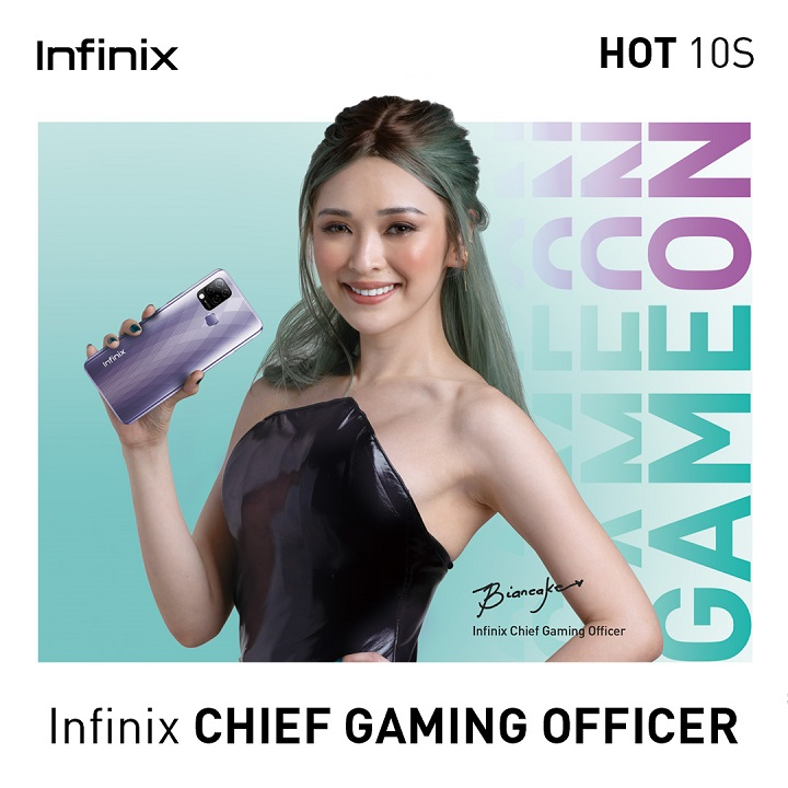 Esports It-Girl Bianca Yao named as Infinix PH's Chief Gaming Officer