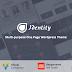Identity Multipurpose One Page WordPress Theme