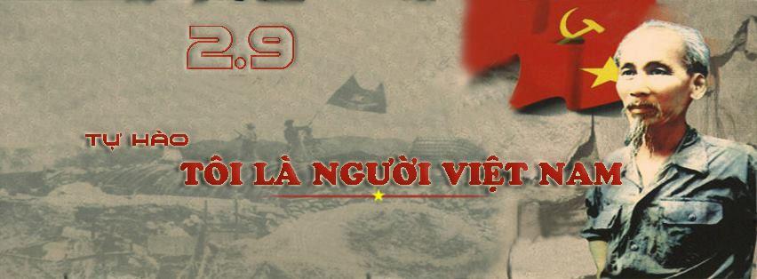 Ảnh bìa Facebook chào tháng 9 Hồ Chí Minh
