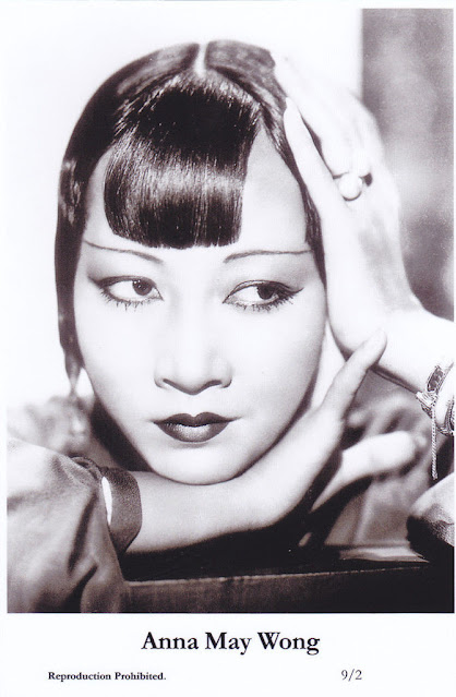 Ann May Wong - postcard