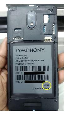Symphony v140 Flash file Firmware Dead boot repair Update