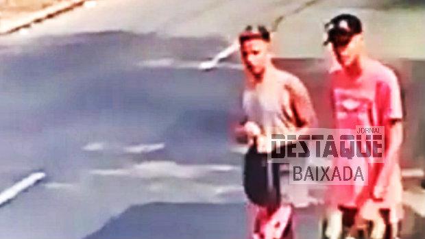 Bandidos armados assaltam casal e roubam carro em Nova iguaçu