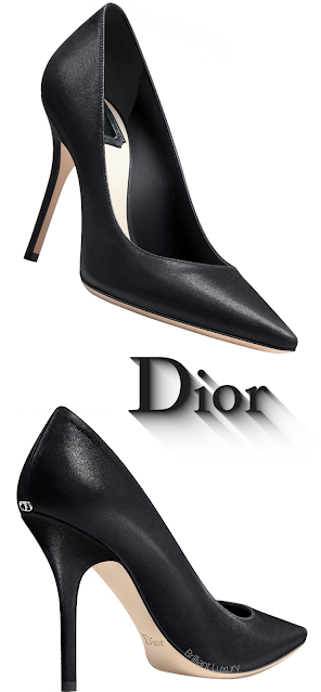 Black Satin Dior Pumps #brilliantluxury