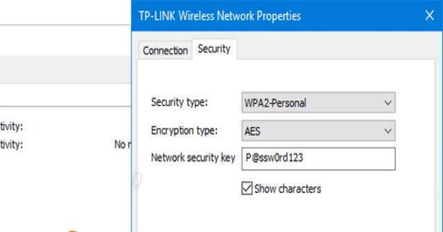 كيفية معرفة باسورد شبكة الوايفاي المتصل بها في ويندوز 10
