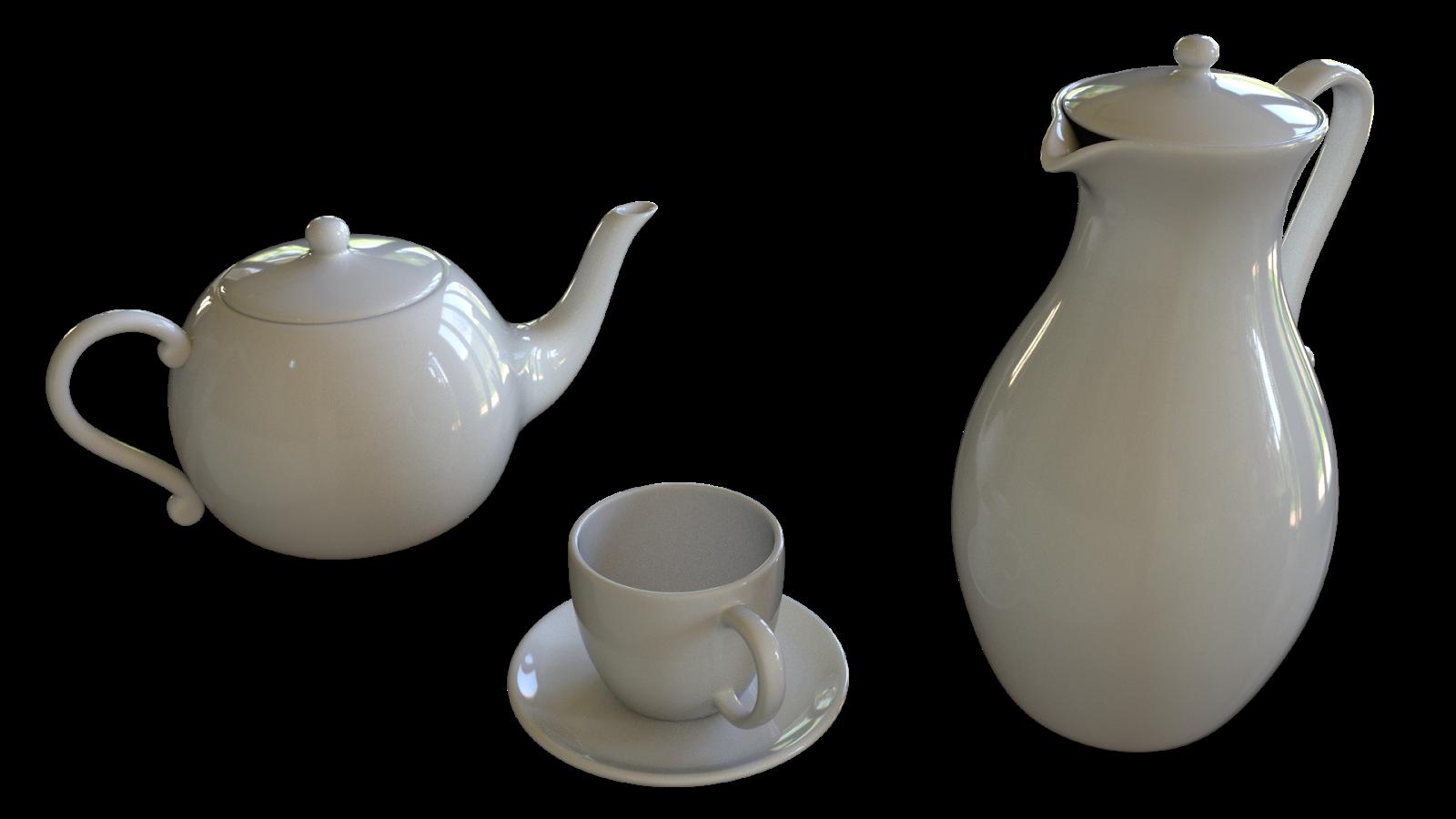 Free 3D Teapot CC0 3DS - Free 3D Models Under Public Domain