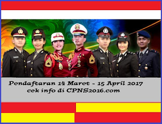 Penerimaan CPNS Polri 2017