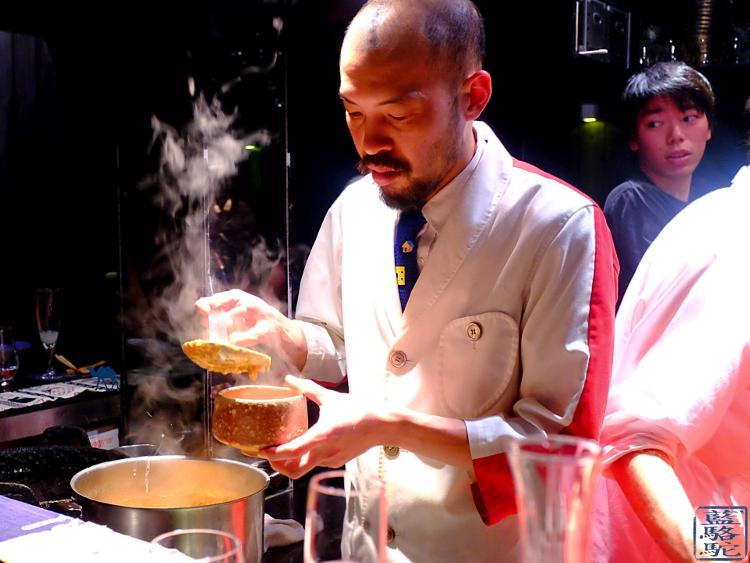 Le Chameau Bleu - Chef Japonais - Restaurant Gastronomique Guilo Guilo Paris