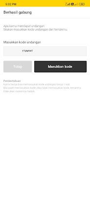 Kode undangan Aplikasi Kakaopage Android Y7VN1WT
