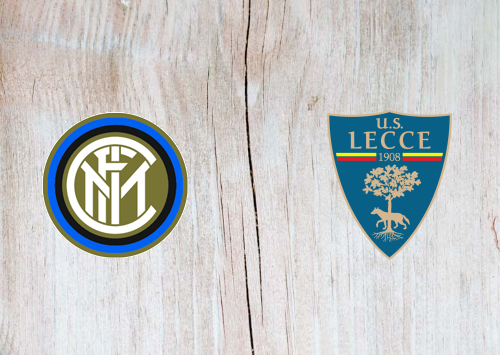 Internazionale vs Lecce Full Match & Highlights 26 August 2019