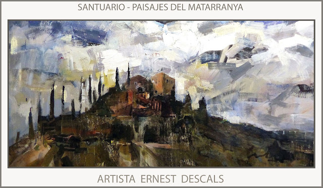 CONCURSO-PINTURA-PEÑARROYA DE TASTAVINS-PREMIOS-CONCURSOS-SANTUARIO-MATARRAÑA-CUADROS-PINTOR-ERNEST DESCALS