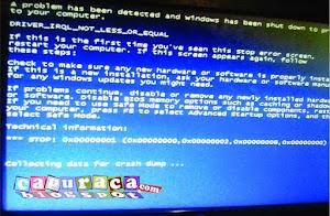 Solusi Accidentally Mengatasi Bluescreen pada Laptop