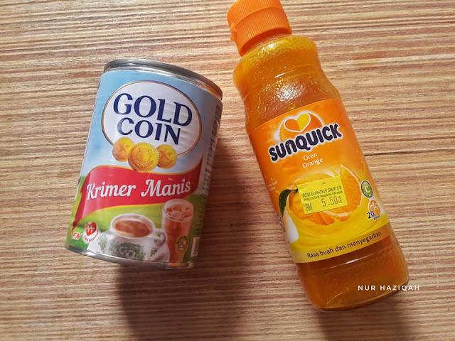 resepi air oren sunquick vitagen