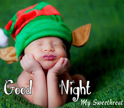 Good Night Cute Baby Wallpaper for Whatsapp