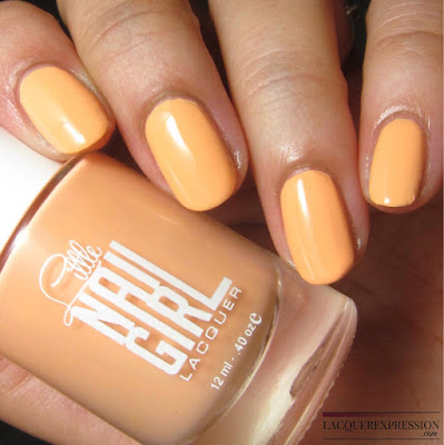 nail polish swatch of Srping It On! by Little Nail Girl Lacquer