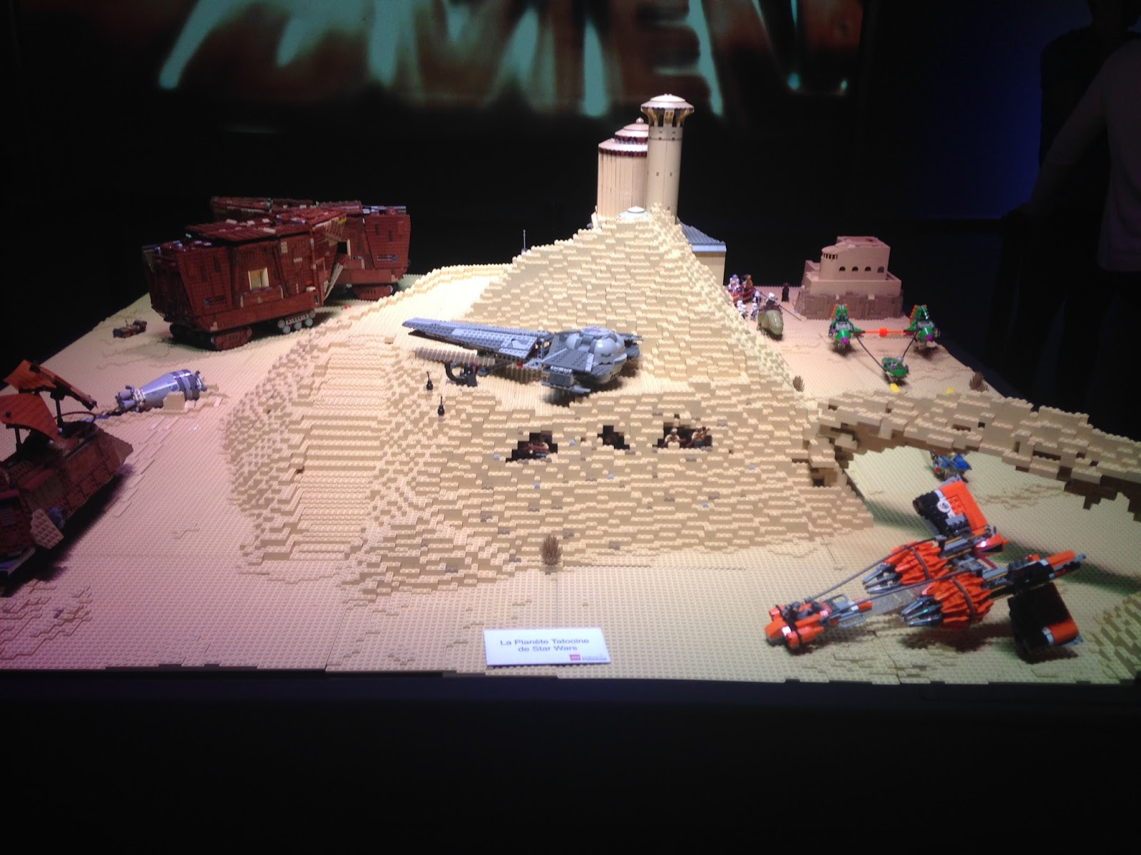 Lego Star Wars, la planète Tatooine