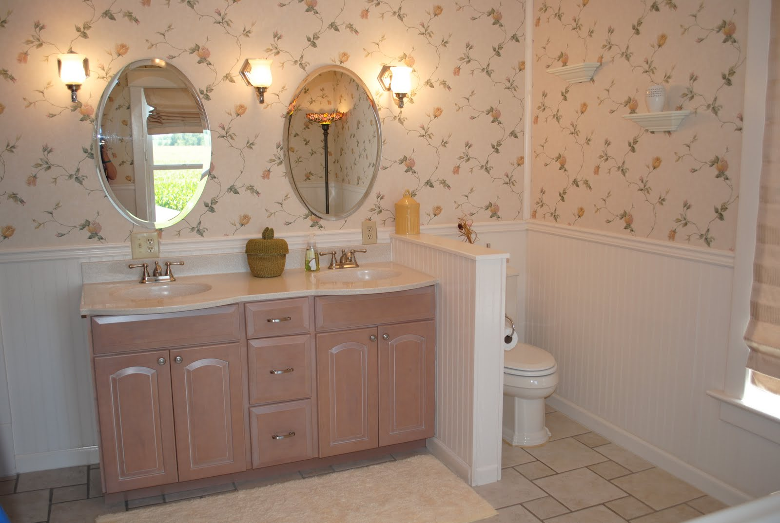 American 4 Square 1914 Master Bedroom And Bathroom