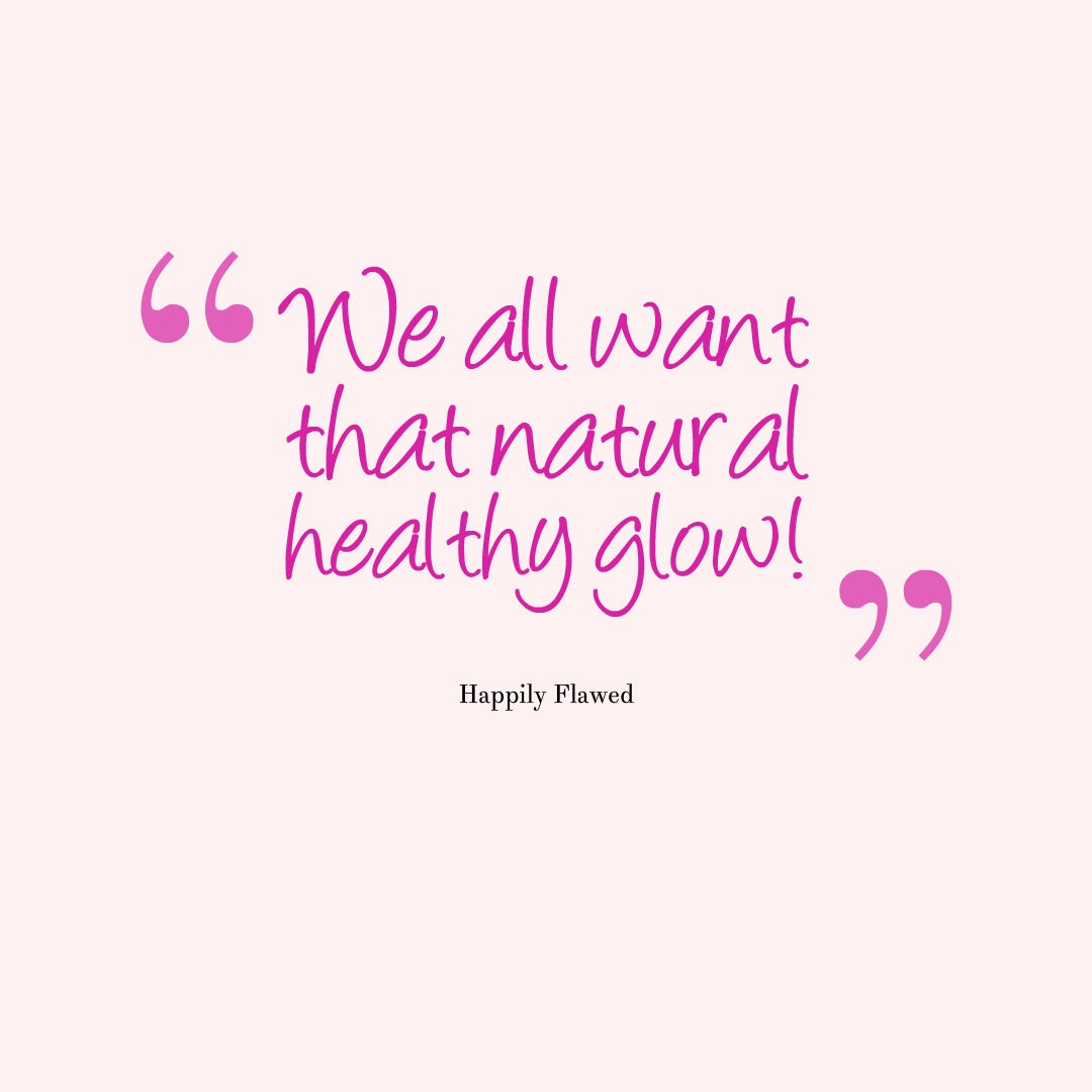 Happily Flawed: The Skin Wars: I Found A Face Mask that
