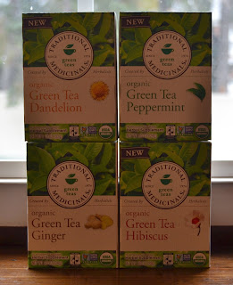 Traditional Medicinals Green Teas