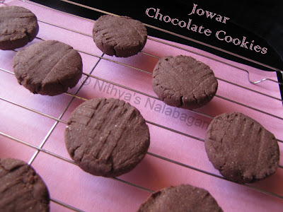 Sorghum Chocolate Biscuits