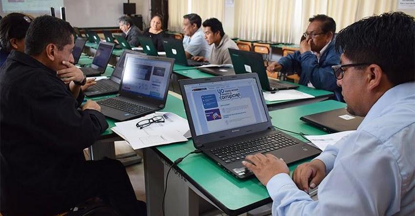 DRELM realiza capacitación de aplicativo anticorrupción para Institutos Públicos - www.drelm.gob.pe