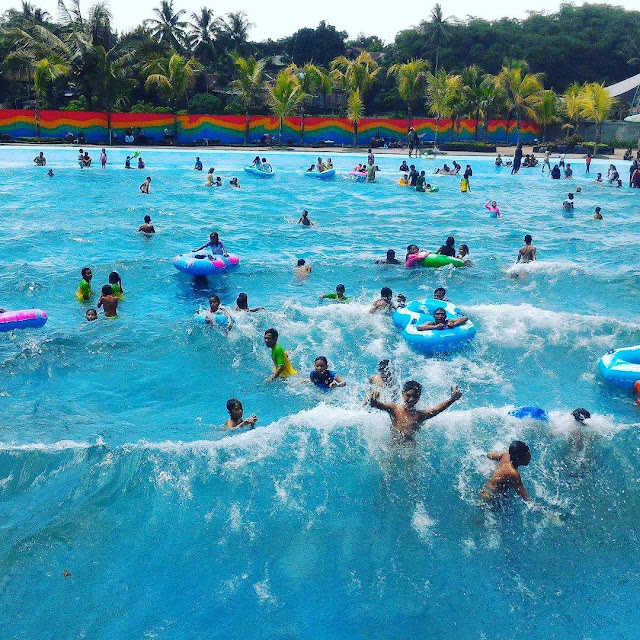 HTM Owabong Waterpark Purbalingga