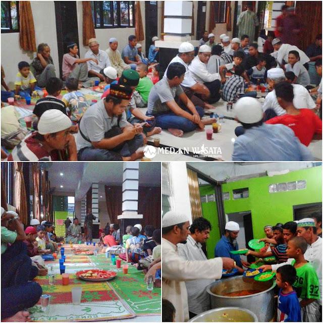 buka puasa Masjid Ghaudiyah