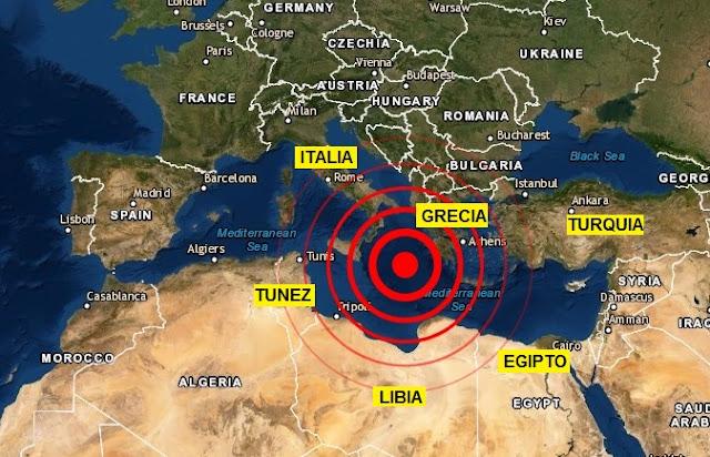 Un enérgico seísmo golpea las costas de Grecia pero sin aviso de tsunami
