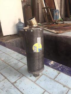 Di jual knalpot leonvince SBK carbon   Gsx600,gsx750,gsx1000,R6,zx6,bandit 400,cb400