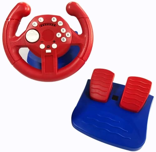 Review Skywin Racing Wheel and Pedal Game Controller