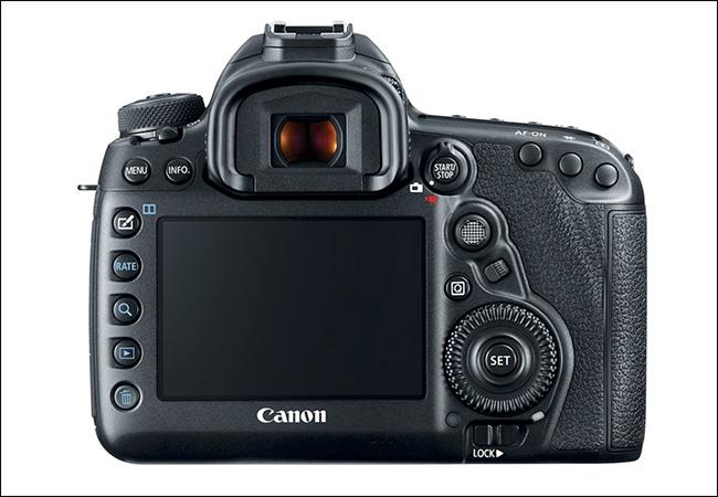 Mirino ottico della Canon DSLR