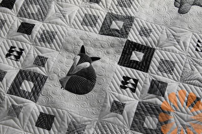 Piece N Quilt: Modern Baby Quilts - Custom Machine Quilting by ... : youtube machine quilting videos - Adamdwight.com