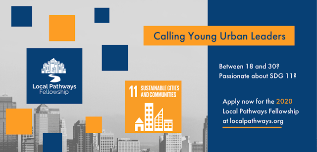 SDSN Youth Local Pathways Fellowship Program For Urban Youth Leaders 2020