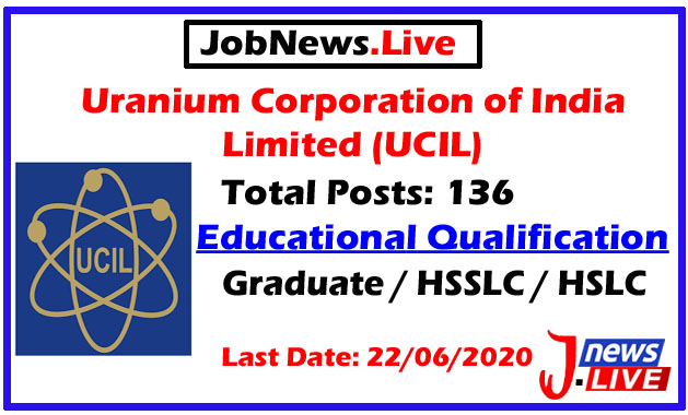 UCIL Recruitment 2020: Apply Online For 136 Apprentice Posts