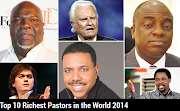 Bishop Oyedepo is the richest pastor in the world...see the top 10 richest Pastors
