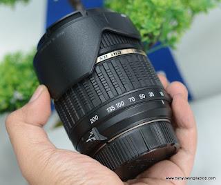Jual Lensa Tamron 18-200mm for Nikon - Banyuwangi
