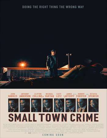 Poster Of Hollywood Film Watch Online Small Town Crime 2017 Full Movie Download Free Watch Online 300MB