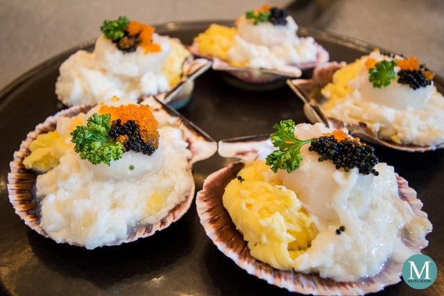 Sautéed Fresh Peeled Crab Meat and Scallops with Egg at Summer Palace at Edsa Shangri-La, Manila