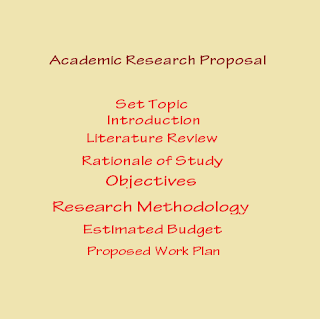 How to write Academic Research Proposal -- simple steps in proposal