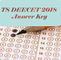 TS DEECET 2018 Answer Key, TS DIETCET 2018 Answer Key, TS TTC 2018 Answer Key, TS DEECET Answer Key