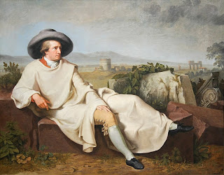 J. H. W. Tischbein, Goethe nella campagna romana, 1787, Francoforte-Museo Stadel