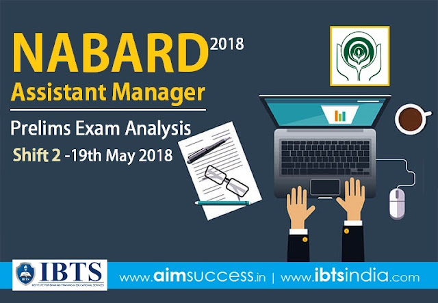 NABARD Assistant Manager Prelims Exam Analysis 2018 (Shift-2)
