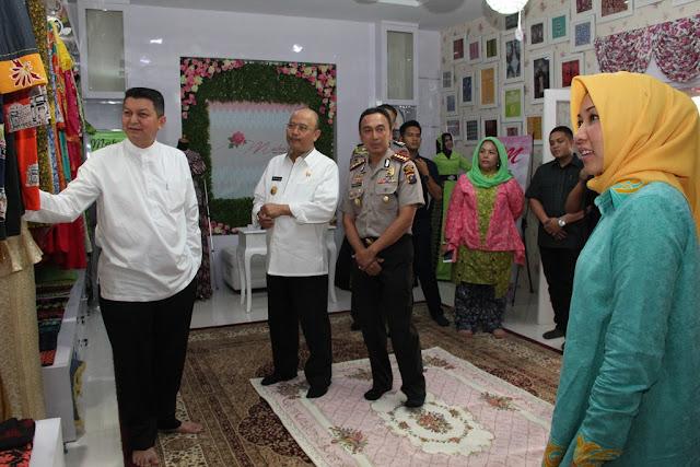 Kapolda Sumatera Utara Kunjungi Maharani Galeri