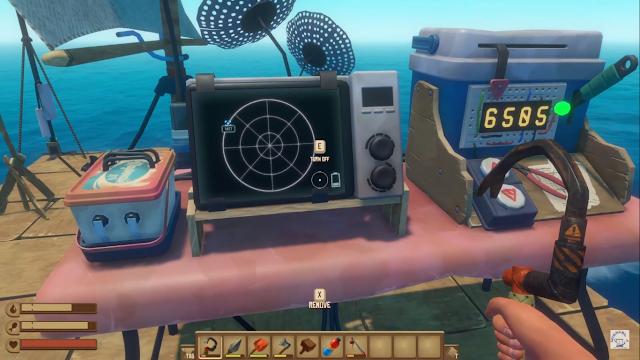 Screenshot Gameplay RAFT