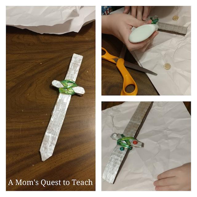 Making Elvish Swords from The Hobbit