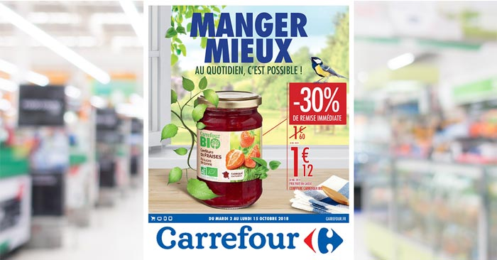 Catalogue Carrefour Du 2 Au 15 Octobre 2018