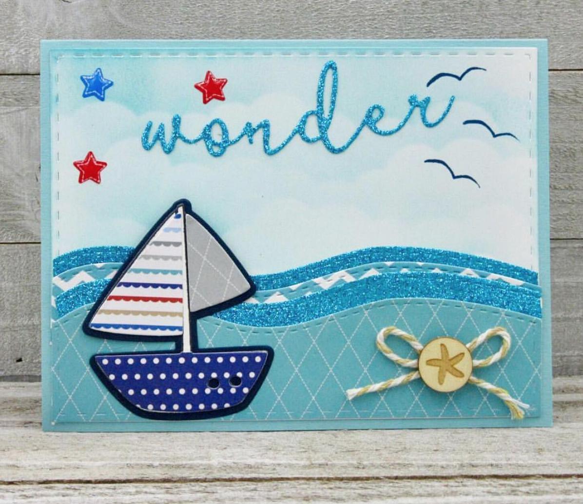 Поздравительные открытки морские, открытки дед мороз