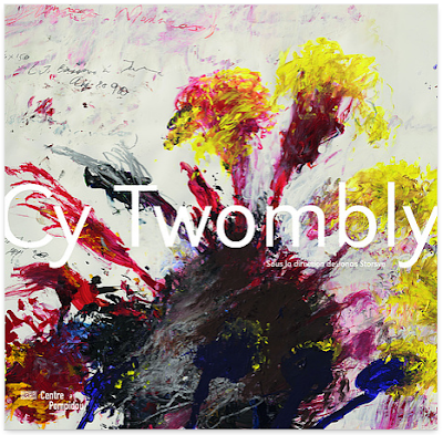 Cy Twombly au centre Pompidou - catalogue de l'expo