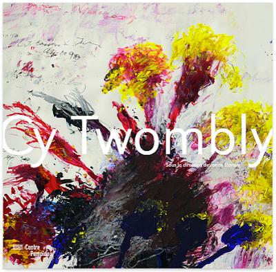 Cy Twombly au centre Pompidou - catalogue de l'expo