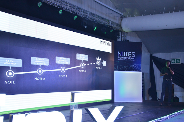 Infinix unveils ?Beyond Intelligent? Smartphone Note 5 Powered by Android One