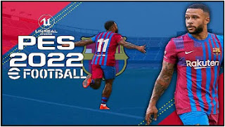 Download eFootball PES 2022 PPSSPP Espana Version New Transfer & Update Full Team Promotion